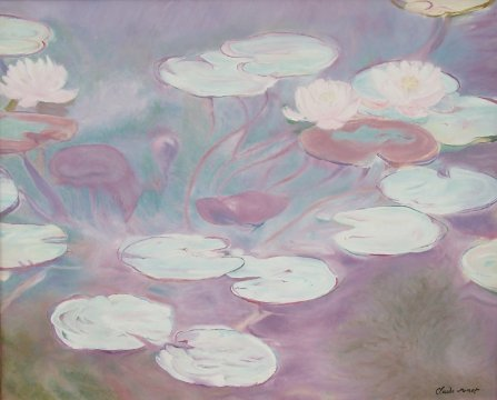 Claude Monet - Waterlily
