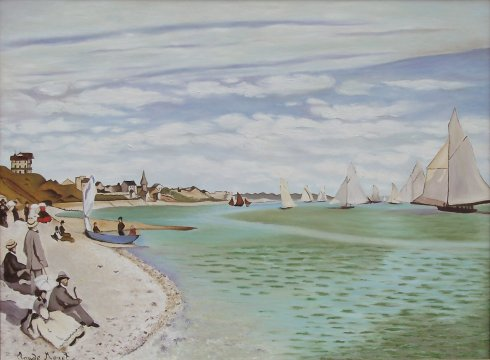 Claude Monet - Regate a Sainte-Adresse